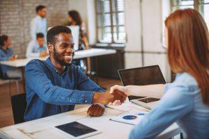 employment candidate interview
