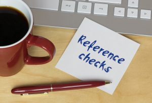 reference checks pen coffee