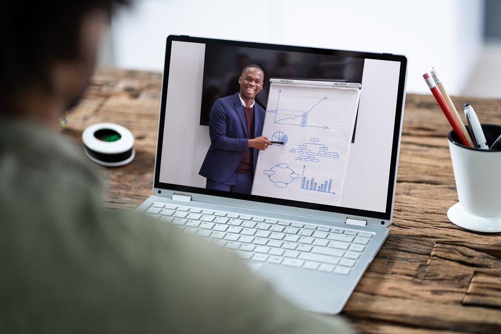 video meeting screen